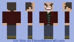Jack Torrance, The Shining Minecraft Skin