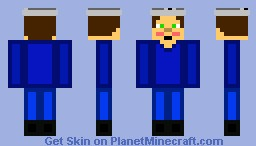 Steve's shy younger brother, Jackson Minecraft Skin