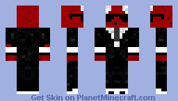 A Dragon in a Suit W/ Cool Shades Minecraft Skin