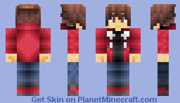 Jaden Yuki ( Alternate Clothing Available) Minecraft Skin