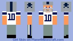Dallas Cowboys Minecraft Skin