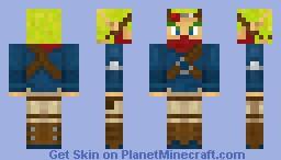 Jak from Jak 2 Minecraft Skin