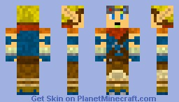 Jak (Jak and Daxter) Minecraft Skin