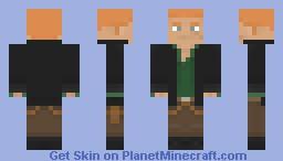 RE6: Jake Muller Minecraft Skin
