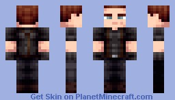 Jake Muller - RE6 Minecraft Skin
