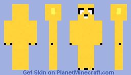Jake (adventure time) Minecraft Skin