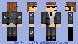 James Bond - Hard Core Minecraft Skin