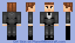 James Bond Minecraft Skin