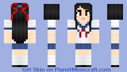 Japanese School Girl [30 Subscribers Special!] Minecraft Skin