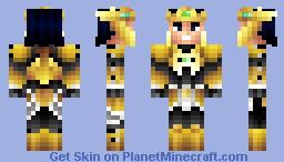 Jarvan IV the examplar of Demacia   (pop reel) Minecraft Skin