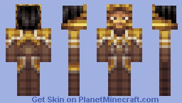 Jarvan IV - League Of Legends Minecraft Skin