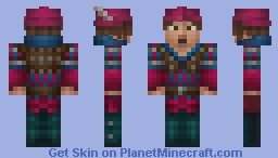 Dandelion (Witcher) Minecraft Skin