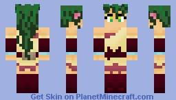 Jasmine from Deltora Quest Minecraft Skin
