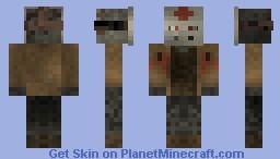 Jason Voorhees ''Shaded'' Minecraft Skin