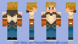 RWBY Jaune Arc Minecraft Skin