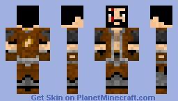 Miner/Barbarian Minecraft Skin