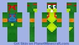 Jazz Jackrabbit Minecraft Skin