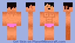 Bodybuilder Minecraft Skin