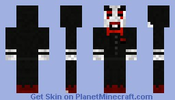 Jigsaw from Saw the film and game Minecraft Skin