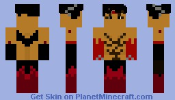 Devil Jin (By kggj) Minecraft Skin