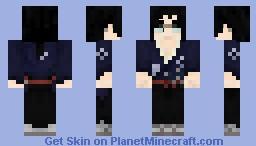 [サムライチャンプルー] じん / Jin (with glasses) | 1.0.0 Minecraft Skin