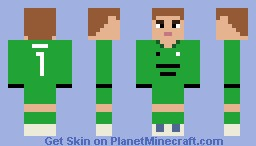 Joe Hart (Manchester City) - New Minecraft Skin