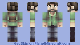 Joel [The Last of Us] Minecraft Skin