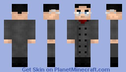 John Balks from Mirai Nikki Minecraft Skin