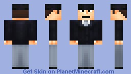John Cleese from Ministry of Silly Walks sketch (Contest entry!) Minecraft