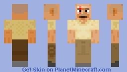 Jhon from LOST Minecraft Skin