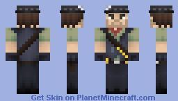 John Marston - Red Dead Redemption Minecraft Skin