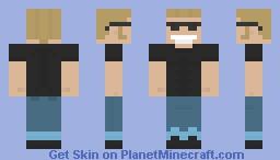 Johnny Bravo! Minecraft Skin