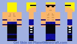 Johnny Cage [Old Version] Minecraft Skin