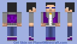 Johnny Gat (SR1 Version in description) Minecraft Skin