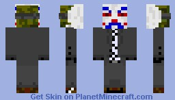 Joker [Bank Robber] Minecraft Skin