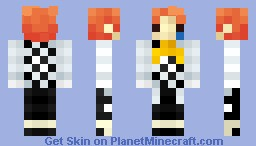 4bit Joker for 3D's contest Minecraft Skin