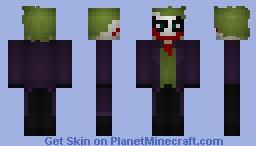 The Joker Minecraft Skin
