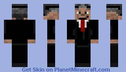 Jon Stewart Minecraft Skin