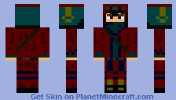 Young adventure guy Minecraft Skin