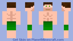Swimsuit Guy Minecraft Skin