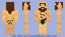 Nude jungle dude Minecraft Skin