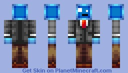 Jyles the Suited Slime - Version 4 | The absolute most sexiest best skin you will ever see in any forum, website or blog and you will die from its awesomeness!!! SERIOUSLY! :D IT MAY BE THE BEST SKIN! Minecraft Skin