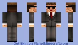 Suit Up Minecraft Skin