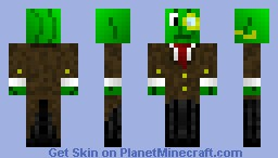 Pikle suit Minecraft Skin