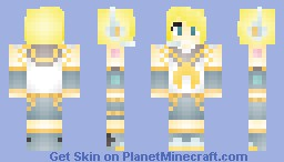 Kagamine Rin (requested) Minecraft Skin