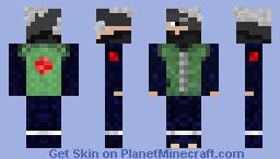 Hatake Kakashi Sensei Minecraft Skin
