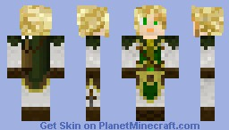 Foresty Archer Man Minecraft Skin