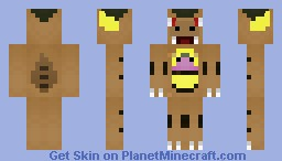Kangaskhan (Pokemon) Minecraft Skin