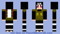 Naruto Skin Series : Kankuro War Minecraft Skin