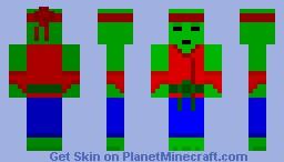 Karate Zombie Minecraft Skin